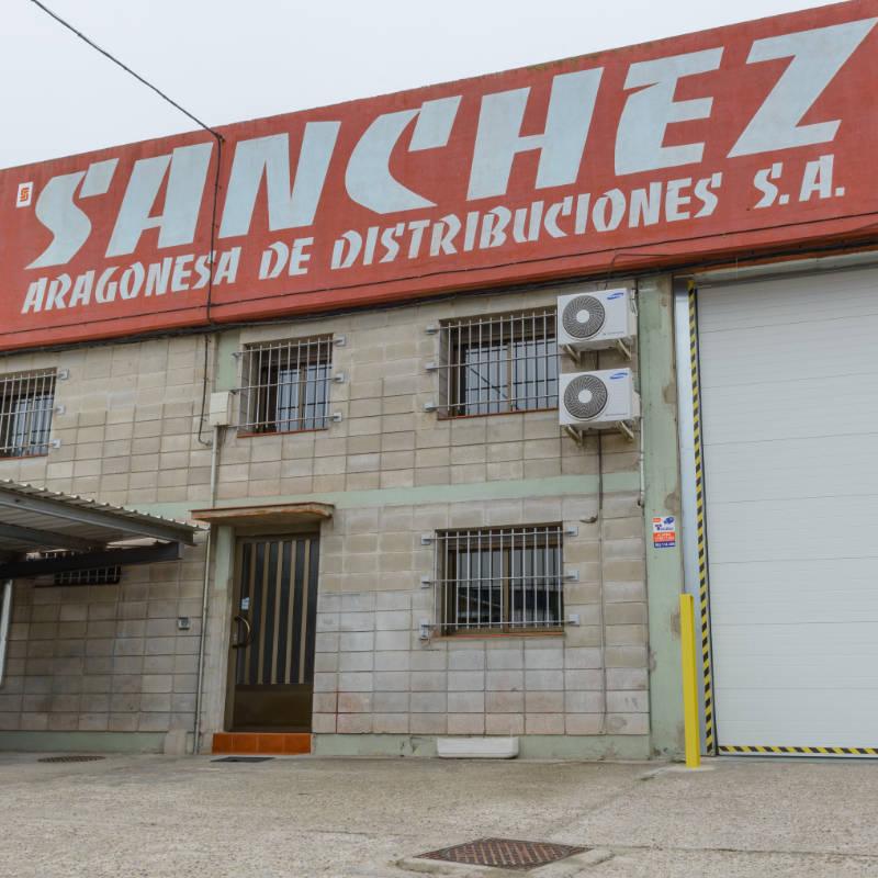 Fachada Sánchez Aragonesa Distribuciones